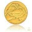 Zlatá investiční mince 1/4 Oz 25 NZD Star Wars Jabba Hutt proof