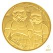 Zlatá investiční mince 1/4 Oz 25 NZD Star Wars Stormtrooper proof