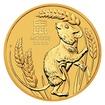 Zlatá investiční mince 1/20 Oz Rok Krysy 2020 stand