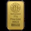 20 g. Zlatý slitek Argor Heraeus