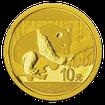Panda 3g  Zlatá investiční mince