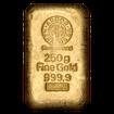 250 g. Zlatý slitek Argor Heraeus