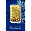 Investiční zlatý slitek 100g Pamp Fortuna
