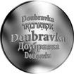 Česká jména - Doubravka - stříbrná medaile