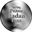 Česká jména - Radan - stříbrná medaile