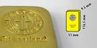Investiční zlatý slitek 1kg Argor Heraeus SA Švýcarsko