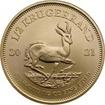 Zlata investiční mince Krugerrand 1/2 Oz