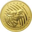 Zlatá investiční mince Howling Wolf 1 Oz 2014 (.99999)