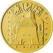 Zlatá mince 5000 Kč Zvíkov 2018 Proof
