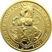 Zlatá investiční mince The Queen's Beasts The Unicorn 1 Oz 2018