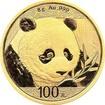 Zlatá investiční mince Panda 8g 2018