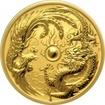 Zlatá investiční mince Drak a Fénix 1 Oz 2018