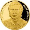 Zlatá půluncová mince Ivan Hlinka 2018 Proof