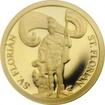 Zlatá mince Patroni - Svatý Florián 2018 Proof