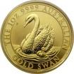 Zlatá investiční mince Australian Swan 1 Oz 2018