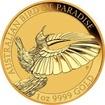 Zlatá investiční mince Australian Bird of Paradise 1 Oz 2018