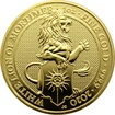Zlatá investiční mince The Queen´s Beasts The White Lion 1 Oz 2020