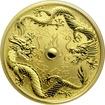 Zlatá investiční mince Drak a Drak 1 Oz 2020