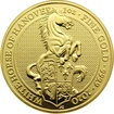 Zlatá investiční mince The Queen´s Beasts The White Horse 1 Oz 2020