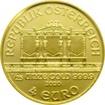 Zlatá investiční mince Wiener Philharmoniker 1/25 Oz