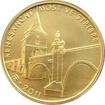 Zlatá mince 5000 Kč Renesanční most ve Stříbře 2011 Standard