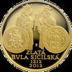 Zlatá mince 10000 Kč Zlatá bula sicilská 1oz 2012 Proof