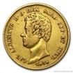 Zlatá mince 20 lira Carlo Alberto-Sardinie 20 lira