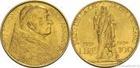 Zlatá mince 100 lira 1933-1934 Vatikán 8g