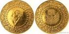Zlatá mince 500 piastrů-Turecko 1.25 Oz
