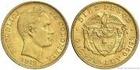 Zlatá mince 10 pesos-Kolumbie 1919 10 pesos