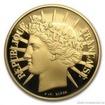 Zlatá mince 100 franků 1988-Fraternity 1/2 Oz