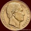 Zlatá mince belgický dvacetifrank- král Leopold I. 20 frank