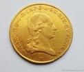 Zlatá mince  Sovráno-1793 V  František I. Sovráno