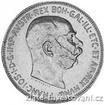 Stříbrná Dvoukoruna Františka Josefa I. 1912 2 koruna
