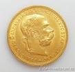 Zlatá mince Dvacetikoruna Františka Josefa I. rakouská ražba 1893 20 koruna