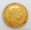 Zlatá mince Dvacetikoruna Františka Josefa I. rakouská ražba 1894 20 koruna