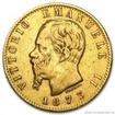 Zlatá mince 20 lira Vittorio Emanuele II.  1861-1878 20 lira
