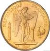 Zlatá mince francouzský 50 frank-Anděl-Genius 50 frank
