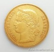 Zlatá mince švýcarský dvacetifrank-Helvetica 1889 20 frank