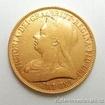 Zlatá mince britská Dvoulibra-Victoria 1893 Double sovereign