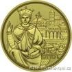 Zlatá mince císařská koruna Otto I. 208-100 eur 1/2 Oz