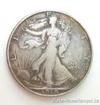 Stříbrná mince USA-half dollar-kráčející svoboda 1916-1947 1/2 Oz