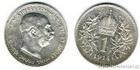 Stříbrná koruna Františka Josefa I. 1914 koruna