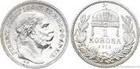 Stříbrná koruna Františka Josefa I. 1915 koruna