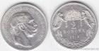 Stříbrná Dvoukoruna Františka Josefa I. 1913 - K.B. 2 koruna