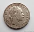 Stříbrný 1 zlatník Františka Josefa I. 1879 1 zlatník