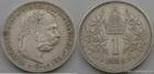 Stříbrná koruna Františka Josefa I. 1898 koruna