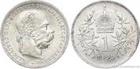 Stříbrná koruna Františka Josefa I. 1899 koruna