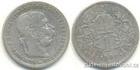 Stříbrná koruna Františka Josefa I. 1901 koruna