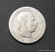 Stříbrná koruna Františka Josefa I. 1897 bz koruna